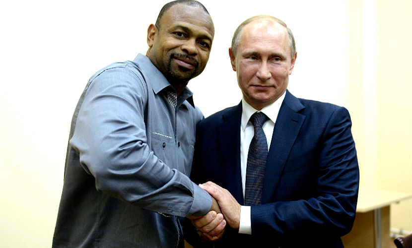 Попросивший у Путина гражданство РФ боксер бросил вызов Кличко