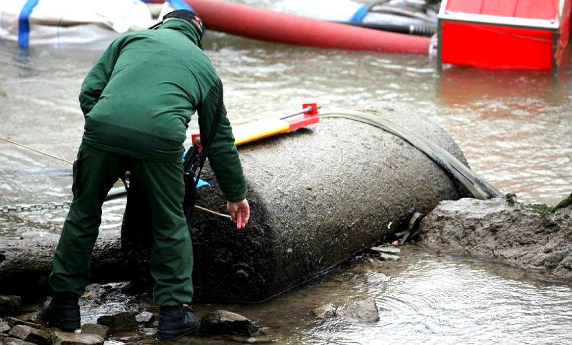 В Германии найдена бомба времен Второй мировой, есть угроза взрыва