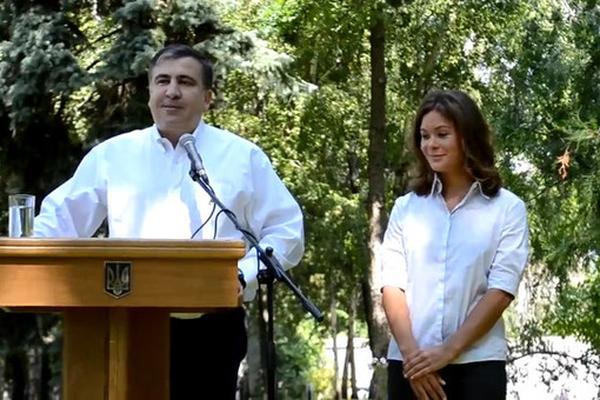 Саакашвили назвал «перебежчицу Гайдар» катастрофой для России
