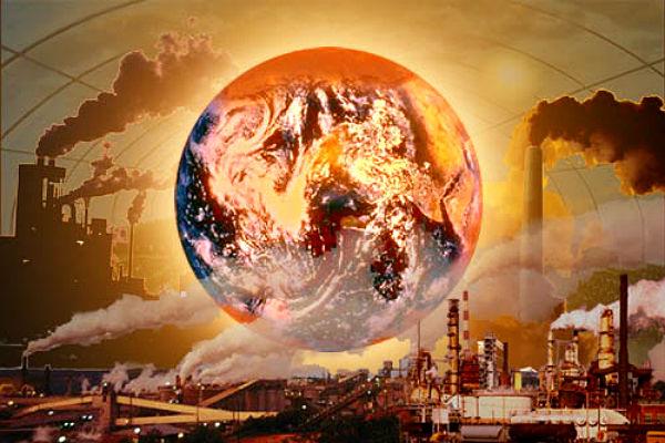 В глобальном потеплении Земли обвинили Россию и Украину