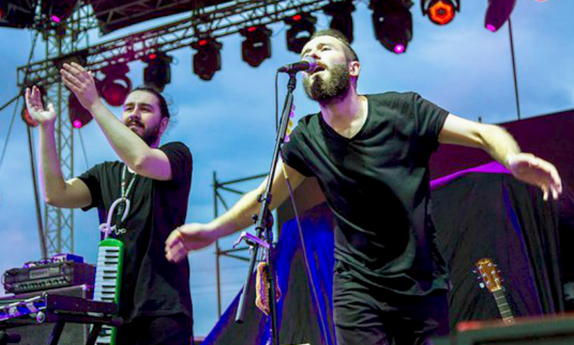 Грузинская группа пропала по пути на фестиваль