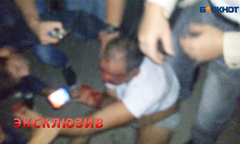 Самосуд над виновником ДТП из Ростовской области сняли на видео
