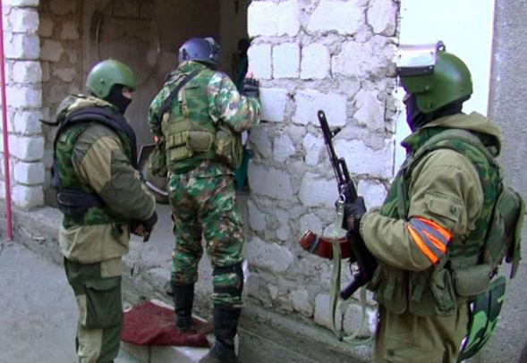 8 боевиков ликвидированы на границе с Чечней
