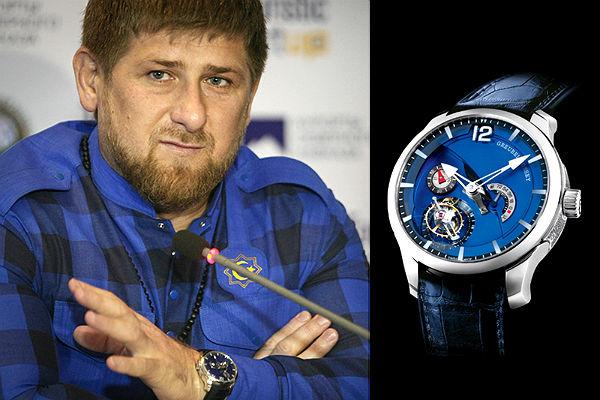 Рамзан Кадыров рассказал, откуда у него часы за 18 миллионов
