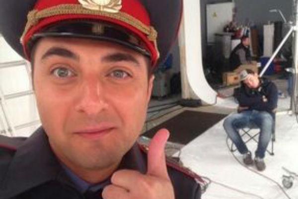 Внедорожник резидента Comedy Club снес в центре Москвы автомобиль ДПС