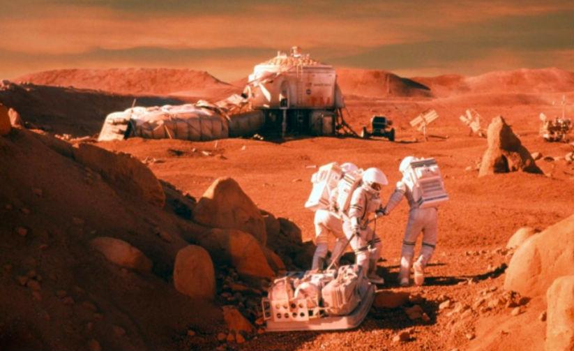 Земляне-покорители Марса не смогут вернуться домой