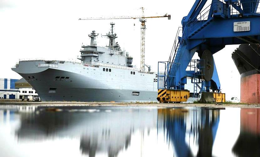 Россия запрещает Франции продавать