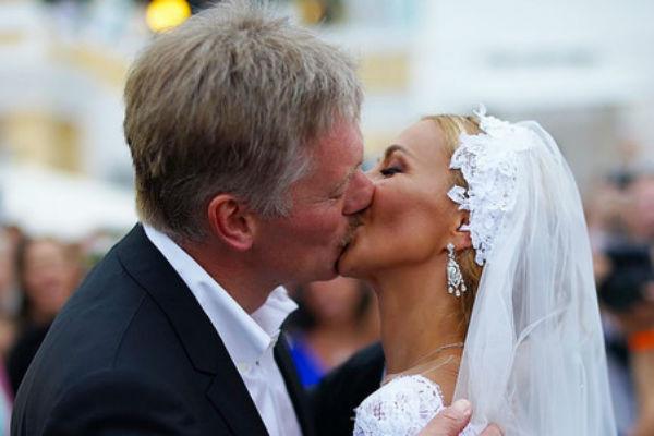 Свадьбу Навки и Пескова посетил Дмитрий Медведев