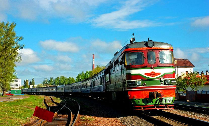 На Сахалине загорелся поезд с 200 пассажирами