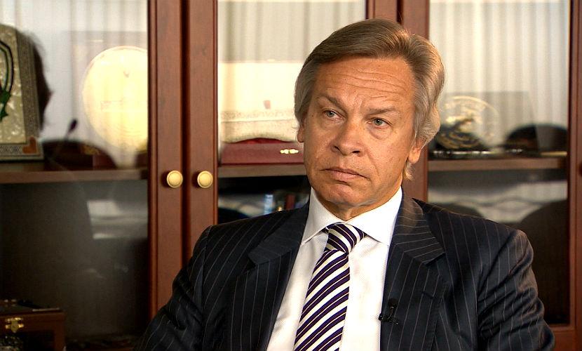 Пушков не поверил обещаниям Яценюка о невозможности дефолта