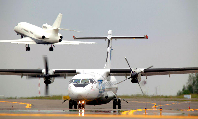 Самолет экстренно сел в Самаре из-за проблем с сердцем у пассажирки