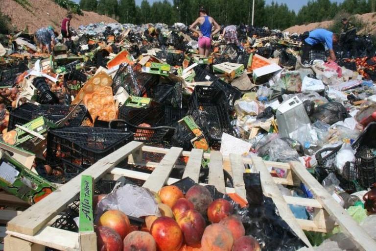В Смоленске санкционные продукты отдали людям