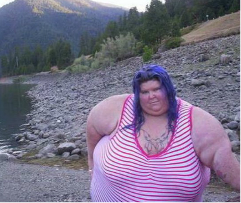 фото девушек жирных