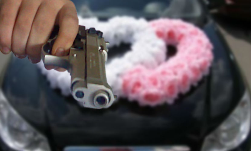 За стрельбу из свадебного кортежа в Адыгее виновные заплатят штраф