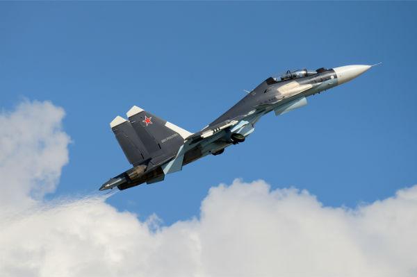 Новейшие истребители Су-30СМ прибыли в Крым