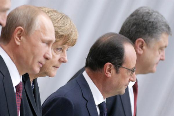Лидеры «Нормандской четверки» обсудили проблемы поставок российского газа на Украину