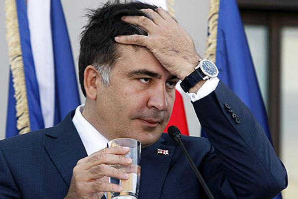 Саакашвили признался, что у него