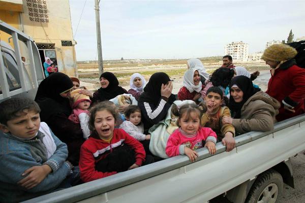 Украина отказалась принимать беженцев из Сирии