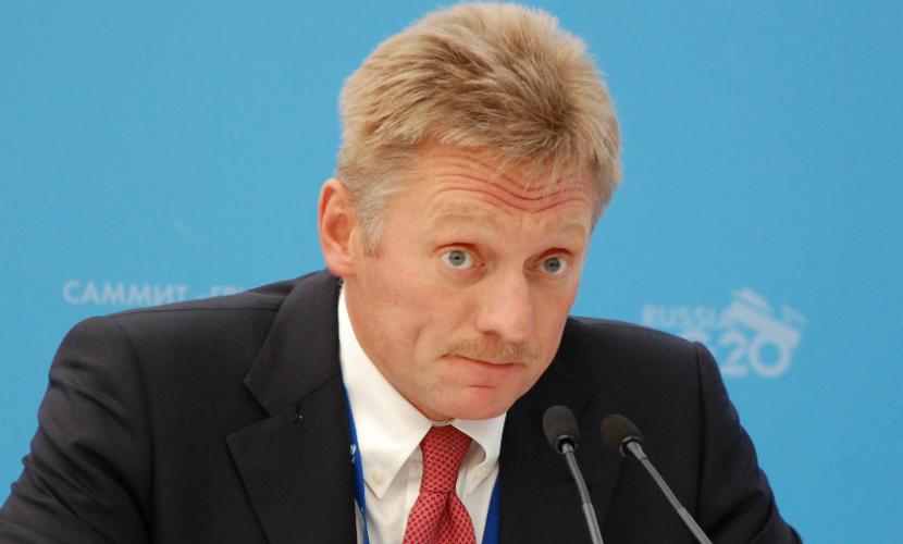 Песков перенаправил в Минобороны вопрос о военной базе на границе с Украиной