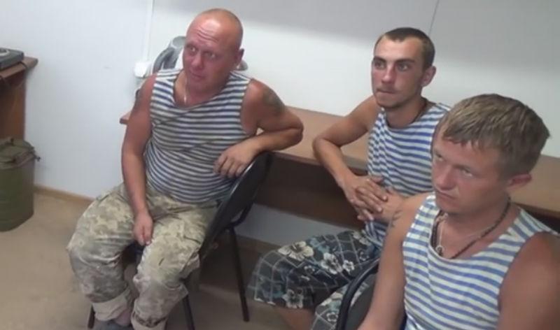 Украина не хочет забирать троих десантников, сбежавших в Крым