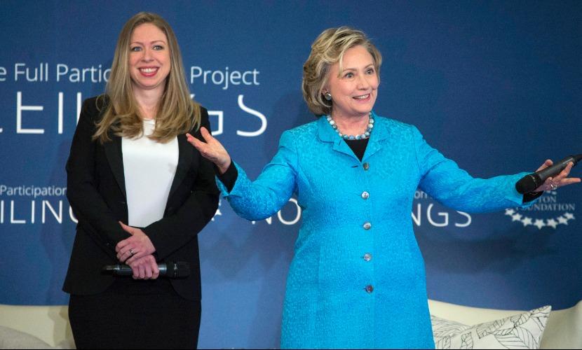 Челси Клинтон удивила нелюбовь американцев к ее маме Хиллари