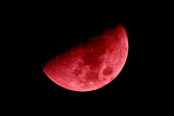 «Кровавую Луну» смогут лицезреть земляне в ночь на 28 сентября