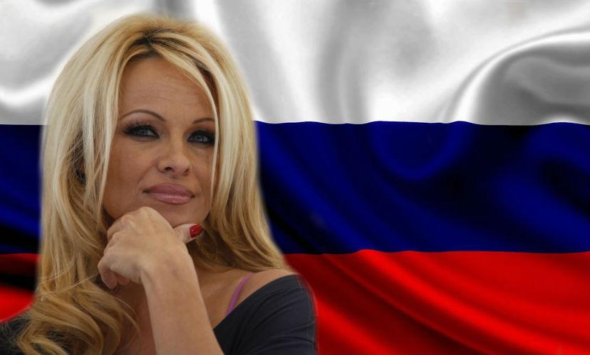 Памела Андерсон заявила о своих русских корнях