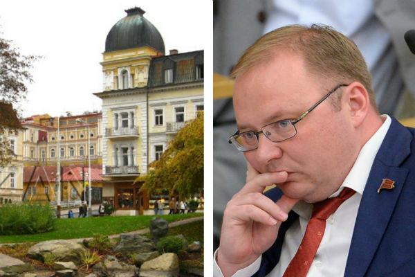 Объявленный в международный розыск депутат Госдумы Паршин отдыхал 3 недели в Чехии