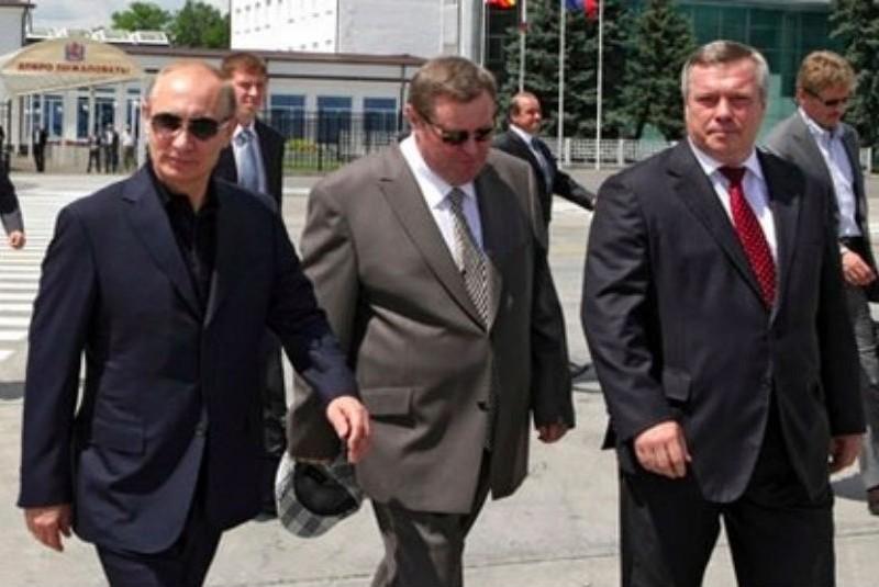 Владимир Путин прилетел в Ростовскую область с рабочим визитом