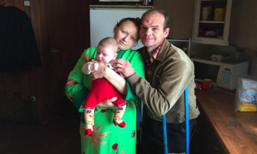 Беженцы из Донбасса прошли тысячу километров, чтобы вернуть детей