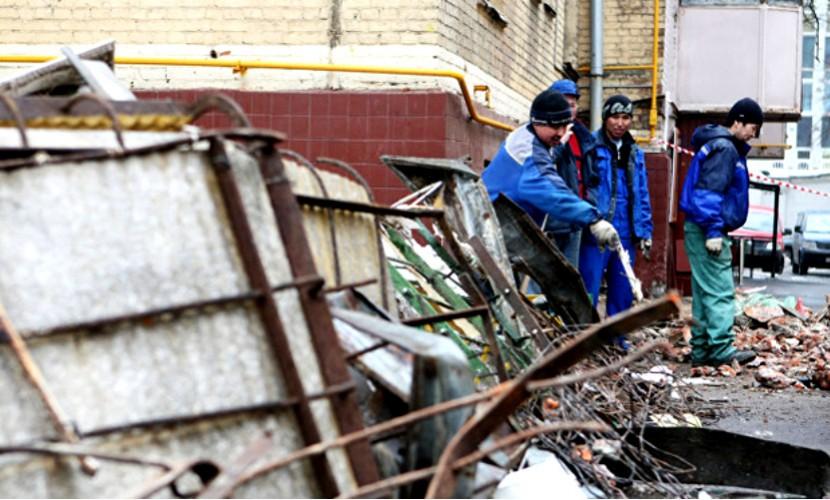 На украинских военных обрушился балкон: есть жертвы