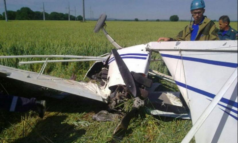 Самолет упал под Рязанью