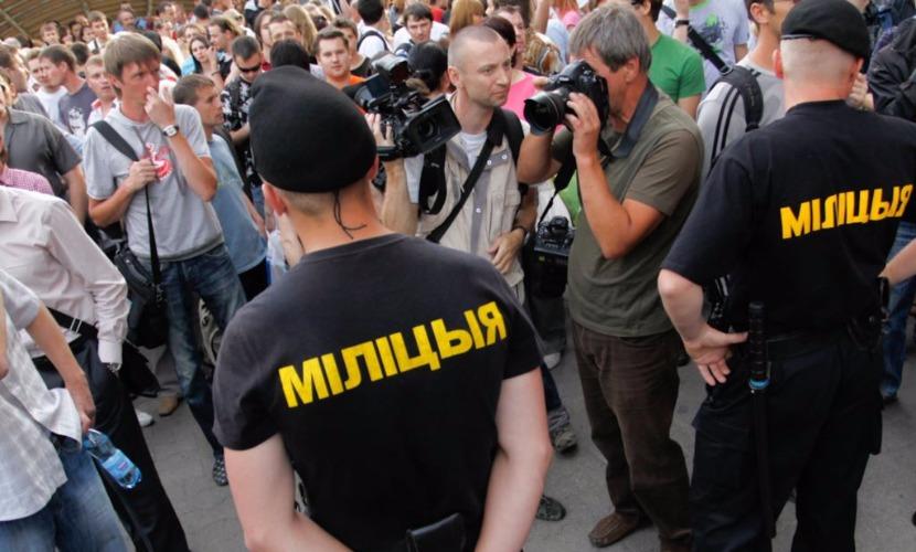 Белорусские оппозиционеры вышли в Минске на несанкционированный митинг