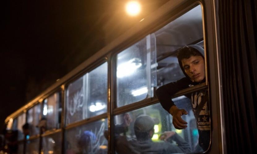 Хорватские власти отправили обратно в Венгрию 20 автобусов с беженцами