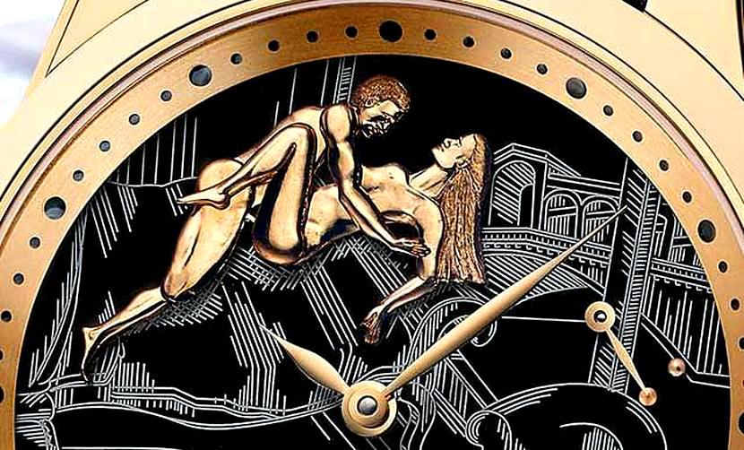 Эротические часы с «любовью в такт» выпустили швейцарцы