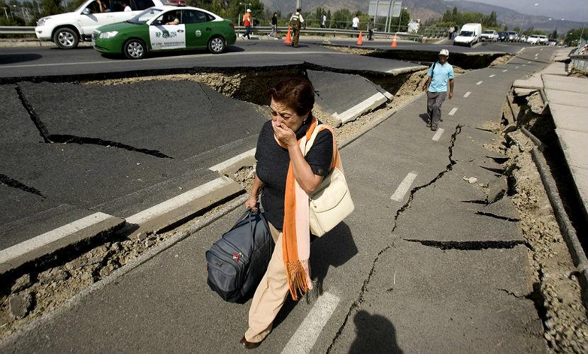 Мощное землетрясение с угрозой цунами произошло в Чили