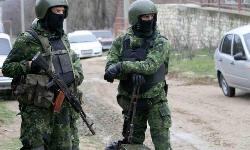 Спецоперация против террористов началась в Дагестане