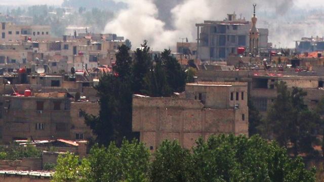 Посольство России в Сирии обстреляли из миномета