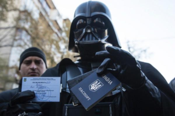 «Блок Дарта Вейдера» примет участие в выборах на Украине
