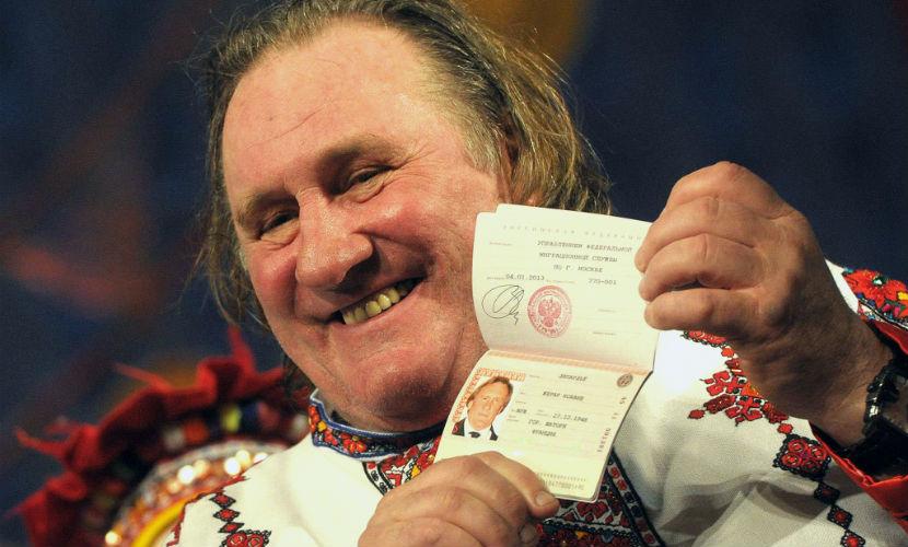 Депардье не планирует получать гражданство Белоруссии