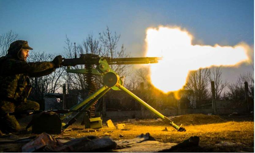 В бою с разведкой ополченцев под Луганском украинская армия понесла потери