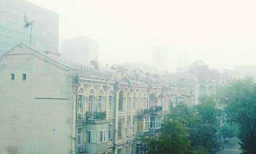Жители Западной Украины задыхаются от едкого дыма