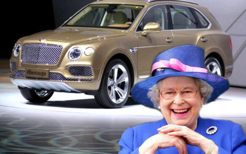 Елизавета II первой заполучила люксовый внедорожник Bentley Bentayga