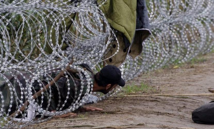 В Венгрии осудили первого нелегального беженца