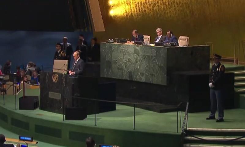 Путин прибыл на Генассамблею ООН. Прямая трансляция