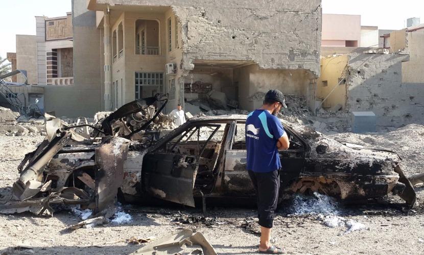 Более десяти человек погибли в результате очередного теракта в Багдаде