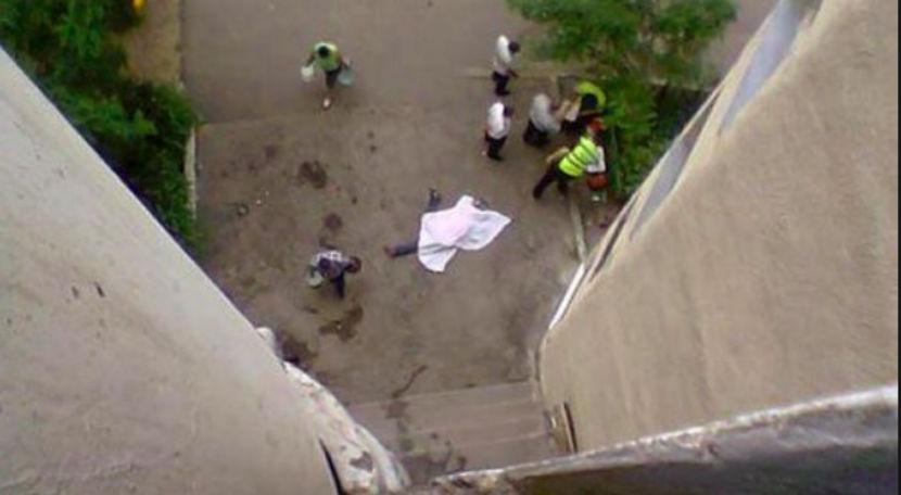 Задержан мужчина, выбросивший 20-летнюю няню из окна 8-го эт.