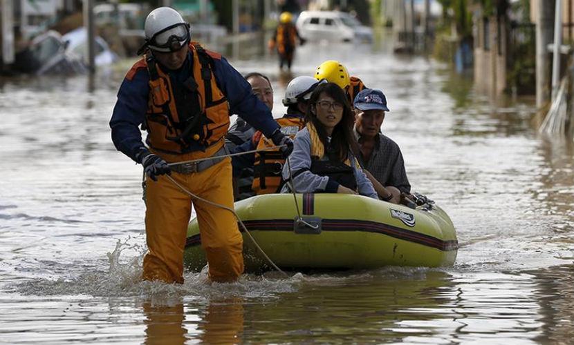 Компания Toyota возобновила работу своих заводов в затопленной Японии