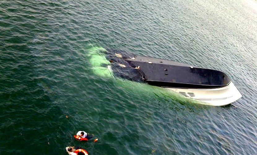 На Оби затонул катер с четырьмя людьми, один пропал без вести