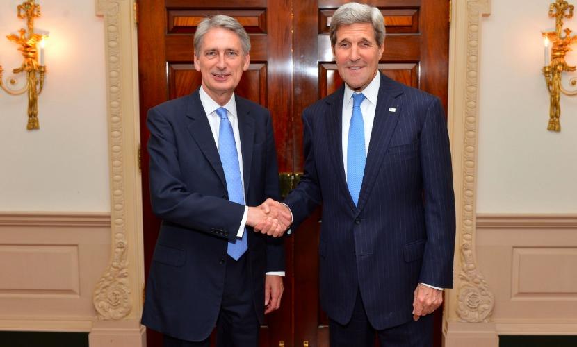 Джон Керри прилетел в Лондон обсудить сирийский кризис